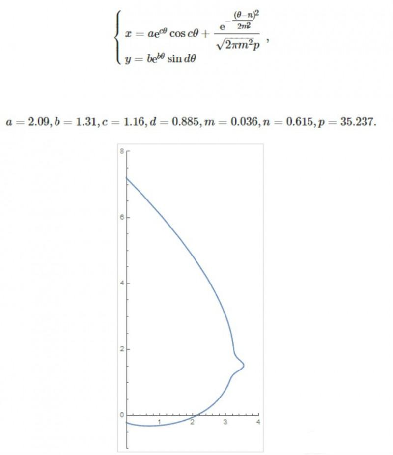 日本欧派函数对抗大赛 用数学分析女人性感美胸