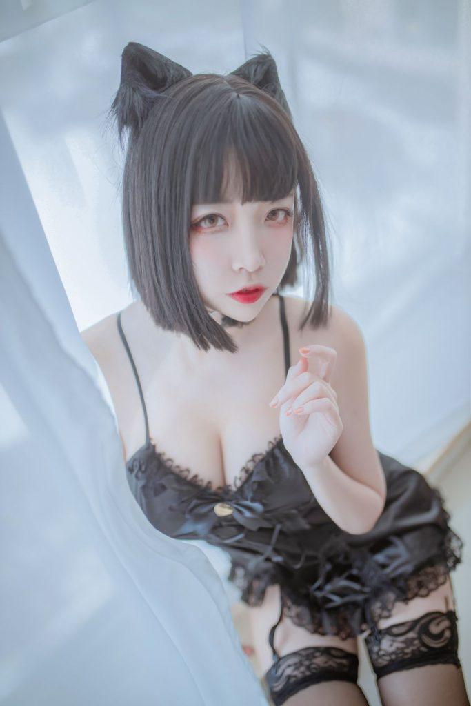 [喵糖映画] VOL.128 日奈娇 私房双人猫耳