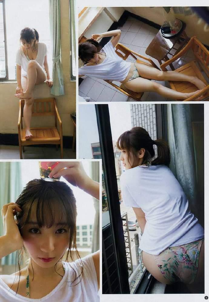 伊织萌最新写真 伊织もえ首次海外拍杂志写真